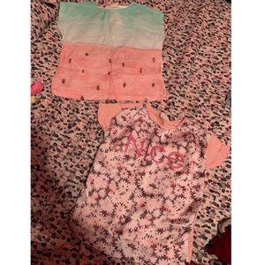 2 Zara girl shirts bundle 🎀